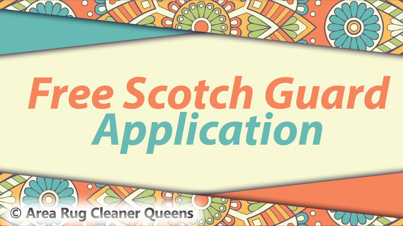 Offer For Free Scotch Guard Application